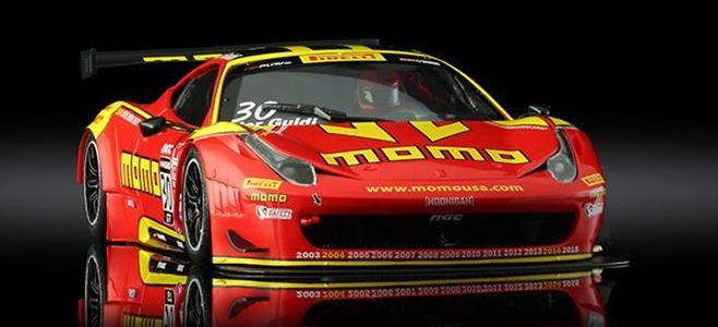 FERRARI GT3 ITALIA MOMO BLACK ARROW