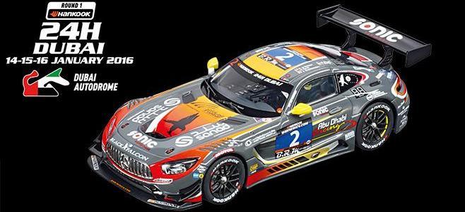 MERCEDES SLS AMG GT3 CARRERA DUBAI