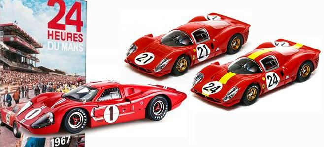 LE MANS 1967 TRIPLE PACK SCALEXTRIC