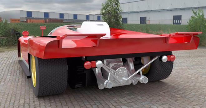 FERRARI 512M PREVIEW FALCON SLOT CARS