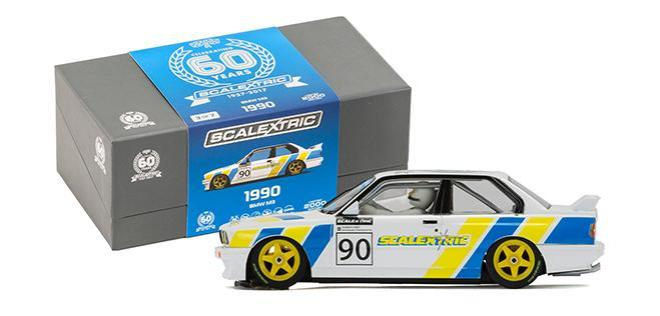 BMW M3 E30 60TH ANN SCALEXTRIC