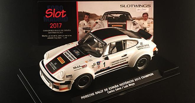 PORSCHE 911 SC C SAINZ 2013 SLOTWINGS
