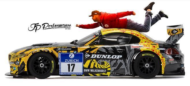 BMW Z4 GT3 DUNLOP ART CAR SCALEXTRIC