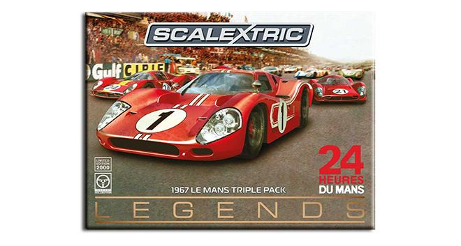 LE MANS TRIPLE PACK SCALEXTRIC