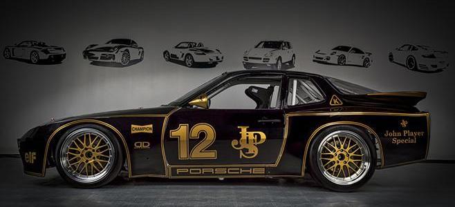 PORSCHE 924 GTR JPS FALCON SLOT CARS PREVIEW