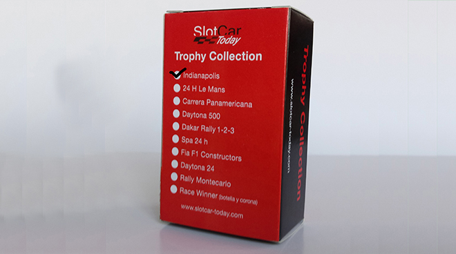 SLOTCAR TODAY TROPHY COLLECTION INDY 500