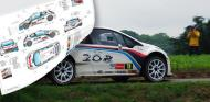 PEUGEOT 208 T16 YPRES SCALEAUTO