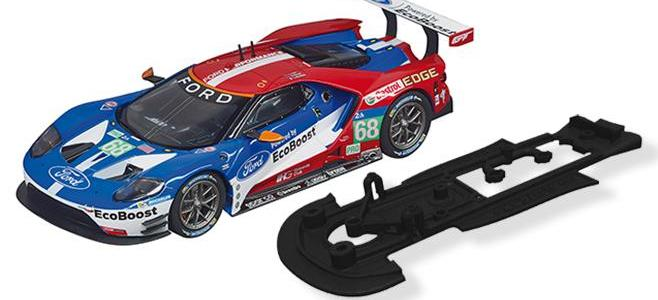 FORD GT 3DP CHASSIS CG SLOTCARS