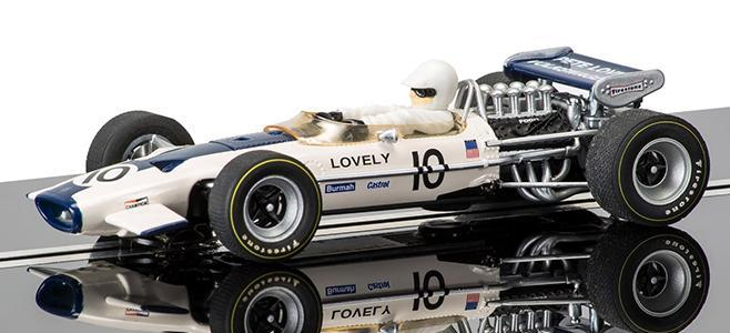 PETE LOVELY LOTUS SCALEXTRIC