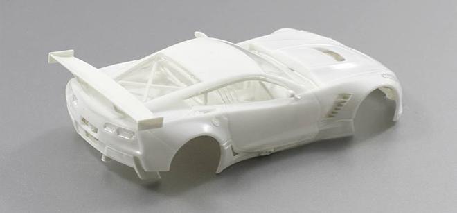C7R GT3 WHITE KIT SCALEAUTO