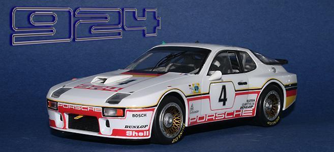 PORSCHE 924 GTP FALCON SLOT CARS