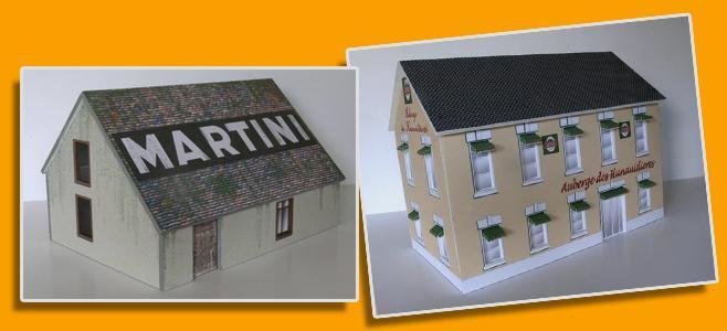 LE MANS BUILDINGS GP MINIATURES