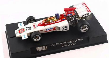 LOTUS 72 CHARLTON PREVIEW POLICAR