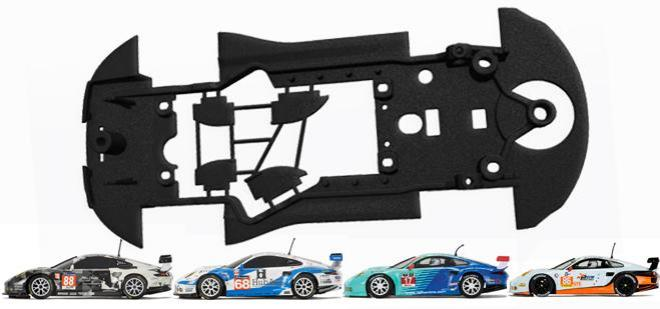 3DP CHASSIS X 911 RSR SLOTIT