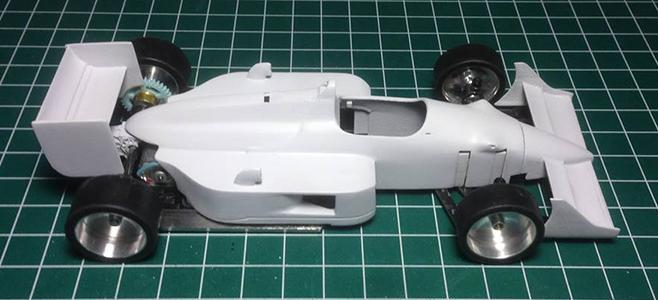 3DP F1 BODY THE AREA 71S