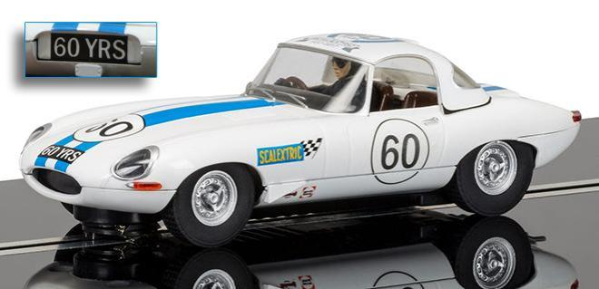 JAGUAR E TYPE 60TH ANN SCALEXTRIC