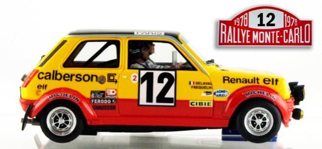 RENAULT R5 ALPINE GR2 GTS SERIES