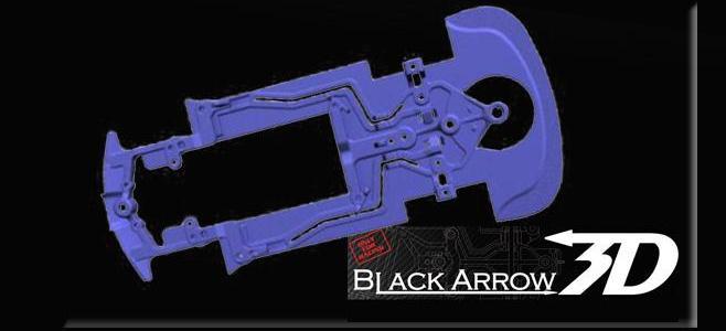 3DP BLACK ARROW