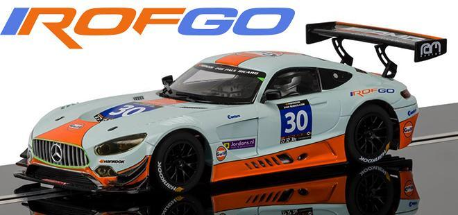 MERCEDES SLS AMG GT3 ROFGO SCALEXTRIC