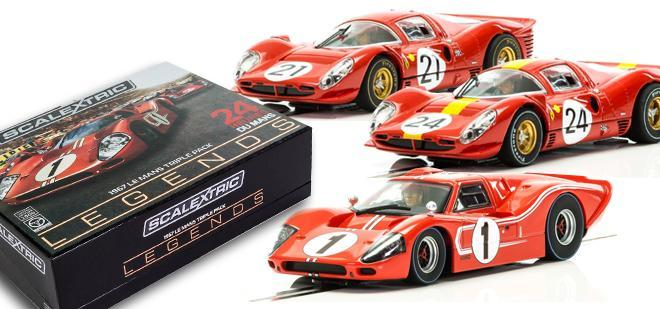 LE MANS LEGENDS 1967 SCALEXTRIC