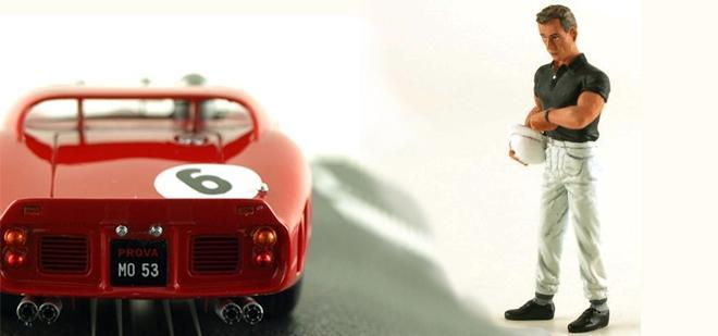 PHIL HILL FIGURE LE MANS MINIATURES