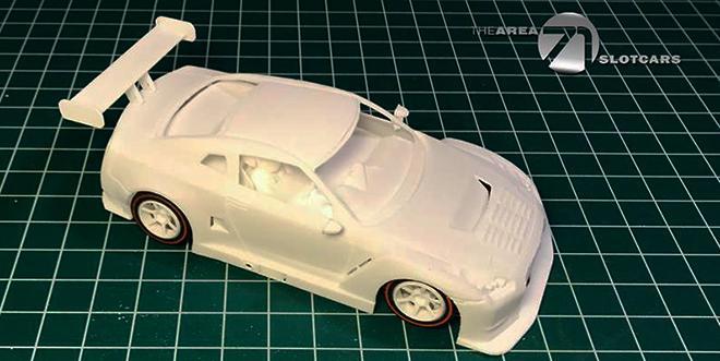 NISSAN GT R NISMO GT3 TA71