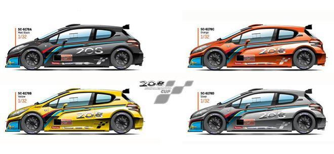PEUGEOT 208 CUP SCALEAUTO