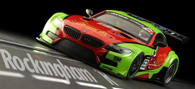BMW Z4 GT3 NSR ROCKINGHAM