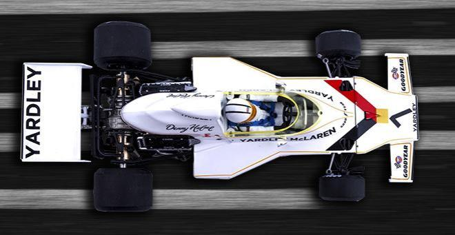 McLaren M23 YARDLEY SRC