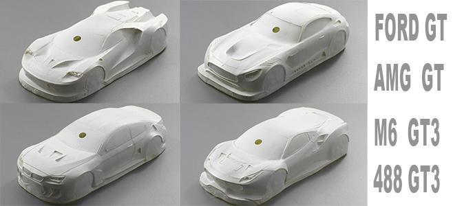 Ultralight fiberbody 124 scaleauto