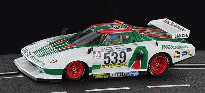 LANCIA STRATOS TURBO ALITALIA SIDEWAYS