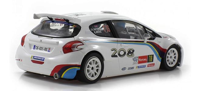 PEUGEOT 208 T16 SCALEAUTO YPRES