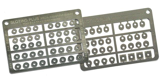 SPACERS WASHERS SLOTING