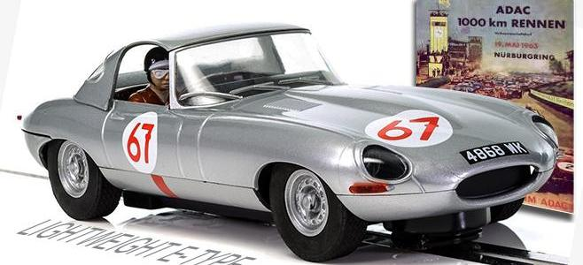 JAGUAR E TYPE LIGHTWEIGHT NURBURGRING SCALEXTRIC