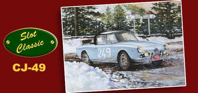 ALFA ROMEO GIULIETTA MONTE 1961 SLOT CLASSIC