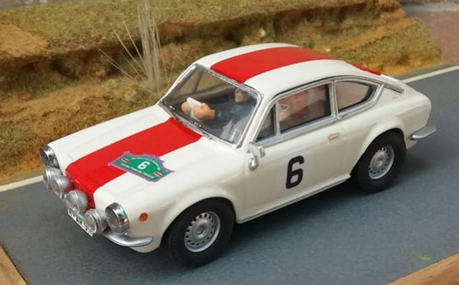 FIAT 850 COUPE ROHRL SCALEXTRICPASSION
