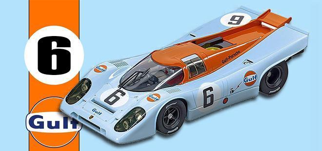 PORSCHE 917K W GLEN CARRERA