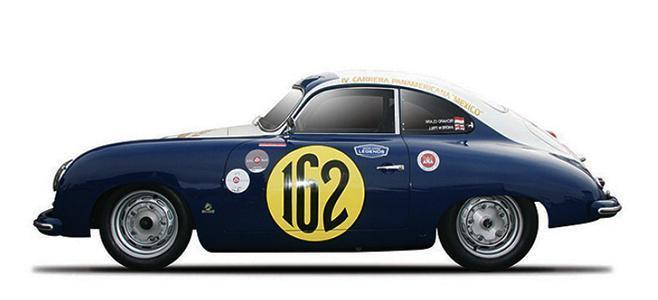 PORSCHE 356 PREVIEW RACER CAR MODEL