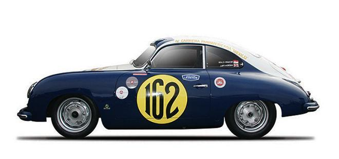 PORSCHE 356 PREVIEW RACER CAR MODEL