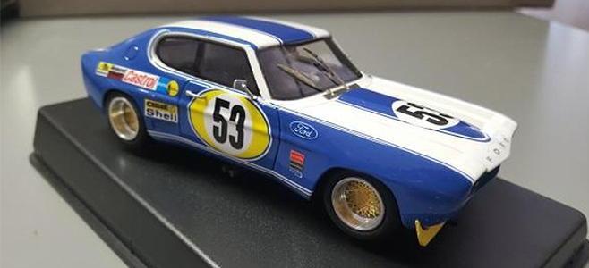FORD CAPRI RS2600 RACER CAR MODELS