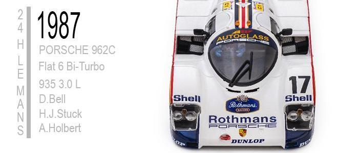 PORSCHE 962 C LE MANS 1987 SLOTIT