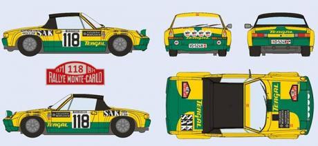 PORSCHE 914 S TERGAL SRC