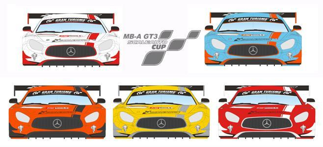 MB A GT3 CUP SCALEAUTO