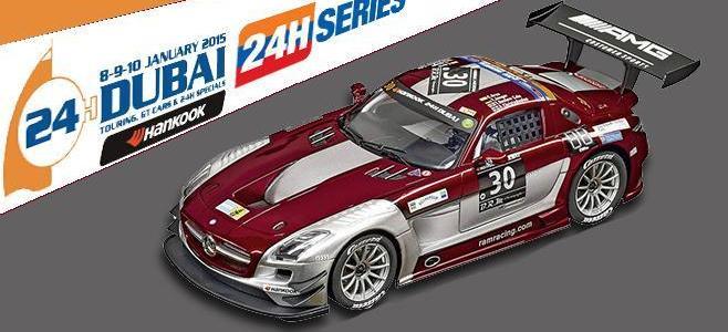 MERCEDES SLS AMG RAM RACING CARRERA