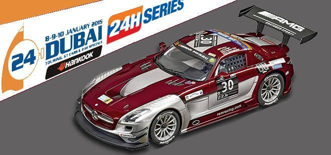 MERCEDES SLS AMG RAM RACING CARRERA