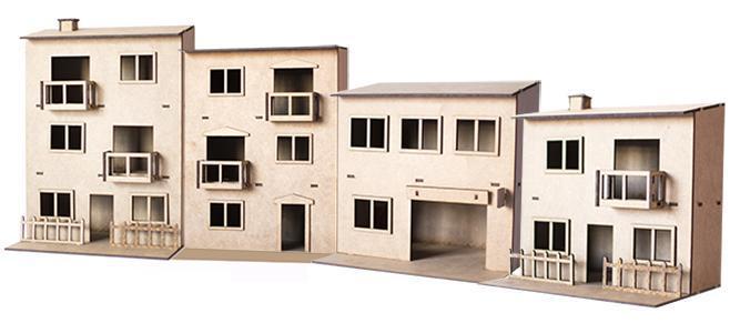 VILLAGE BUILDINGS PSR