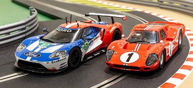 LEGENDS SCALEXTRIC FORD 50 LE MANS