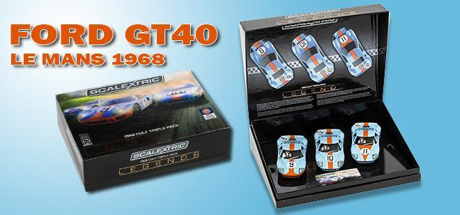 FORD GT40 LEGENDS SCALEXTRIC