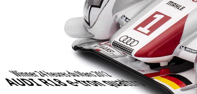 AUDI R18 E TRON QUATTRO LM 2012 WINNER SLOTIT