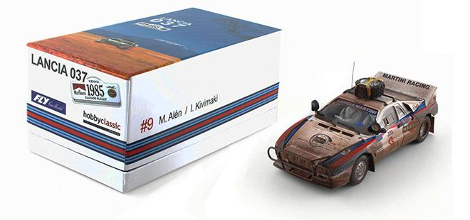 LANCIA 037 #9 LIMIT ED. FLY CAR MODEL